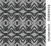 engraving pattern. the... | Shutterstock .eps vector #506846416