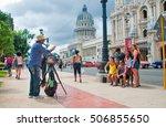 havana  cuba   sept 10  2016 ... | Shutterstock . vector #506855650