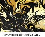 marble ornament. retro... | Shutterstock .eps vector #506856250