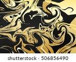 marble illustration. christmas... | Shutterstock .eps vector #506856490