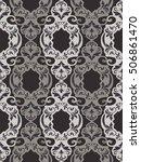seamless damask pattern ....   Shutterstock .eps vector #506861470