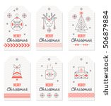 collection of new year and... | Shutterstock .eps vector #506879884