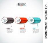 vector elements for infographic.... | Shutterstock .eps vector #506881114