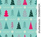Seamless Christmas Vector...