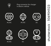 plug connector for charging... | Shutterstock .eps vector #506904523