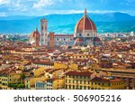 cityscape in florence  italy | Shutterstock . vector #506905216