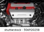 car engine. close up detail | Shutterstock . vector #506920258