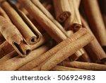 cinnamon sticks | Shutterstock . vector #506924983