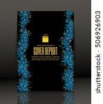 template design for cover.... | Shutterstock .eps vector #506926903