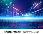 stock exchange concept  vector...