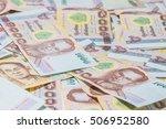 money thai baht  | Shutterstock . vector #506952580