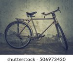 vintage and classic bicycle... | Shutterstock . vector #506973430