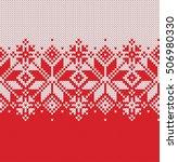 norway festive sweater fairisle ...   Shutterstock .eps vector #506980330
