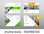 brochure layout template flyer... | Shutterstock .eps vector #506988700