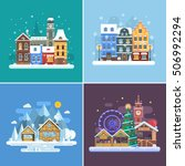 Winter Travel Backgrounds And...