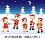 christmas concert. | Shutterstock .eps vector #506995978