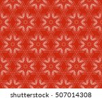 seamless vector pattern. floral ... | Shutterstock .eps vector #507014308