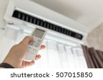 air conditioner inside the room ... | Shutterstock . vector #507015850