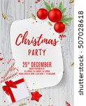 Merry Christmas Party Flyer....