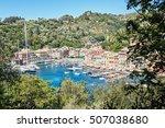 portofino  italy   aug 7  2016  ... | Shutterstock . vector #507038680