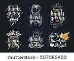 Vector Thanksgiving Lettering...