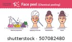 vector illustrated set with... | Shutterstock .eps vector #507082480