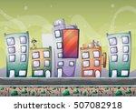 cartoon vector building...