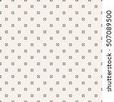 vector seamless pattern.... | Shutterstock .eps vector #507089500