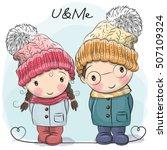 cute winter illustration cute...