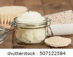 handmade lemon scrub with...   Shutterstock . vector #507122584