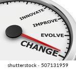 change innovate improve involve ... | Shutterstock . vector #507131959