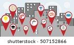 vector illustration for... | Shutterstock .eps vector #507152866