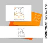 veterinary clinic identity...   Shutterstock .eps vector #507160570