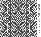 black and white color tribal... | Shutterstock .eps vector #507164389