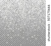 snow falling background. vector ... | Shutterstock .eps vector #507175666