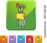 statue liberty | Shutterstock .eps vector #50718328