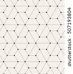 vector seamless pattern. modern ... | Shutterstock .eps vector #507193804