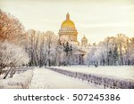 Winter View Of St. Isaac\'s...