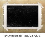 photo frame with corners  album ...   Shutterstock . vector #507257278