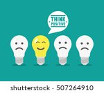 positive thinking | Shutterstock .eps vector #507264910