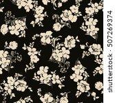 flower pattern illustration | Shutterstock .eps vector #507269374