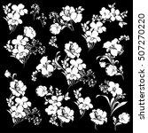 flower illustration material | Shutterstock .eps vector #507270220