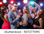 young people having fun dancing ...   Shutterstock . vector #507277090