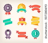 set of colorful banners for... | Shutterstock .eps vector #507280693