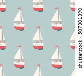 nice seamless pattern with... | Shutterstock .eps vector #507301390