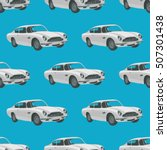 seamless pattern with retro...