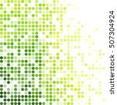 green random dots background ... | Shutterstock .eps vector #507304924