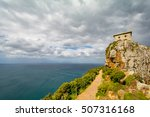 cape point at cape of good hope ... | Shutterstock . vector #507316168