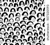 Artistic Seamless Pattern With...