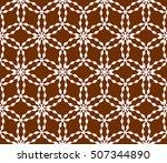 virtual 3d cube. seamless...   Shutterstock .eps vector #507344890
